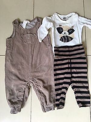 H&M Baby Clothes Size 000 3-6 Months