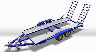 Car Trailer - Diy - Build Your Own Car Trailer