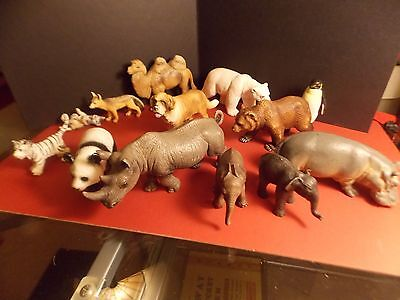 Large Lot of SCHLEICH WILD ANIMALS Mixed Figures Jungle +