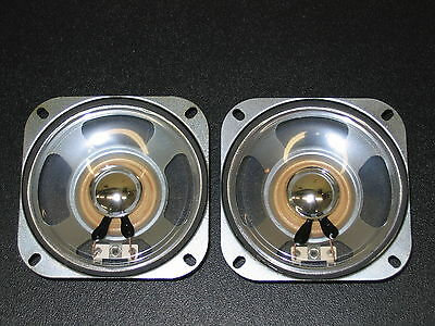 """TWO 4"""" WATER PROOF Outdoor Speakers Drive Thru Car Wash Drive In, 10 Watts, NEW!"""