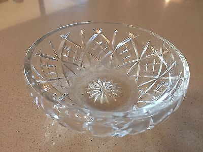 "Waterford Crystal 6"" Bowl"