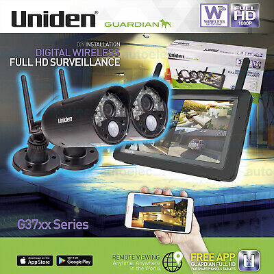 Uniden Guardian G3720 Wireless Surveillance Twin Camera System Expandable New