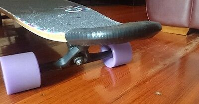 1 Pair of Longboard/Skateboarding nose and tail guards