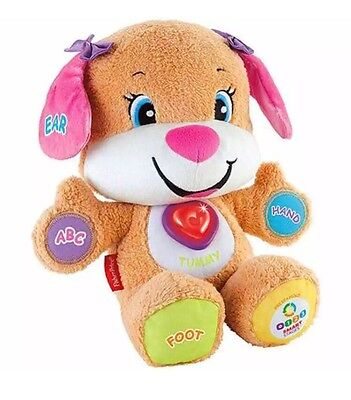 Fisher-Price Laugh Learn Smart Stages Sis Bear Toy Kids Baby Educational NEW