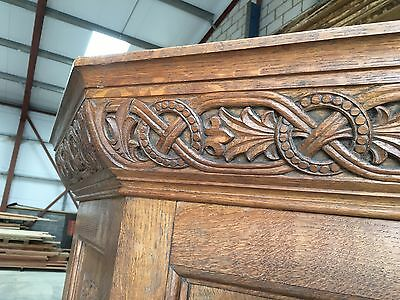 Hand Carved Church Pulpit Reclaimed