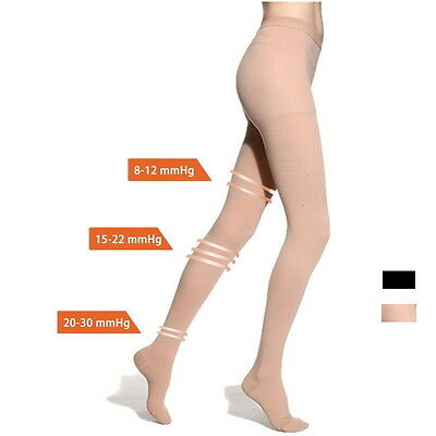 Compression Stocking Pantyhose 20-30 mmHg Support Tights Prevent varicose vein Z
