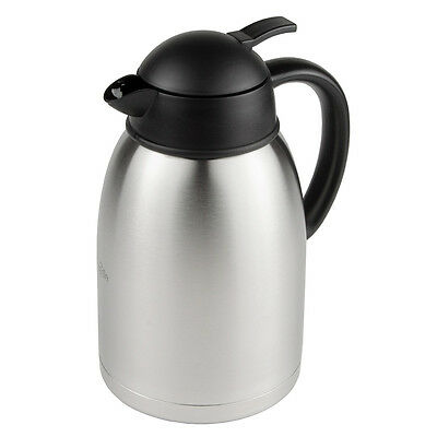 Update International Sup-R-Serv Stainless Steel Push Button 8 Cup Coffee Server