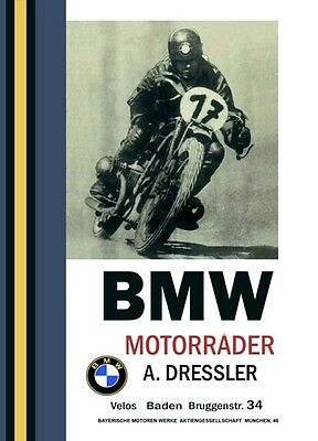 1950's Bmw Motorbikes Motorcycles  Advertisement Poster A3 Reprint