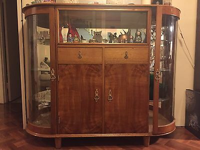 art deco Display Cabinet/ Drinks cupboard/ Sideboard