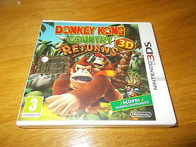 Lotto Nintendo 3ds - Donkey Kong Country Returns nuovo new