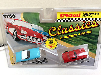 TYCO  1/87 (HO) Classics Magnum 440 - X2  Twin Pack   UNOPENED !