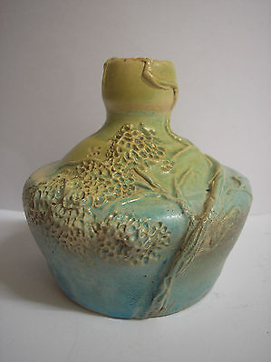Old Australian Pottery Vase Tree Landscape Design
