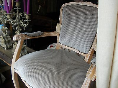 French Louis Antique Boudoir Chairs x 2