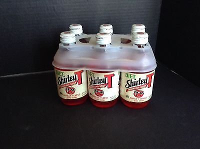 Vintage Shirley Temple Sparkling Soda 6-Pack UNUSED 1987
