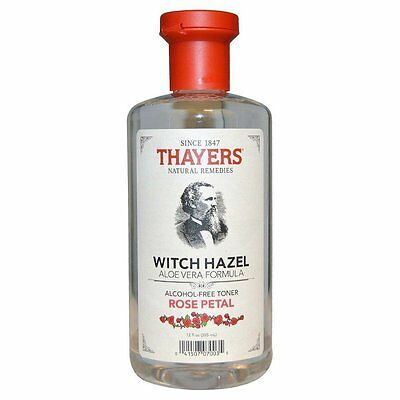 Thayers Rose Petal Witch Hazel Alcohol Free Toner With Aloe Vera 355 ml New