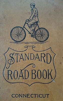 Standard Road Book Connecticut 1897 Bicycle Maps