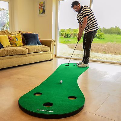 FORB Home Golf Putting Mat - Practise Putting Stroke At Home [Net World Sports]