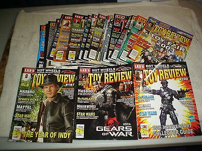 Lee's Toy Review Magazine lot of 23 W/ Guides Action Figure Star Wars Indiana