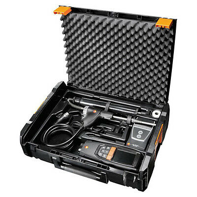 Testo 320 (0563.3220.71) Combustion Analyzer Kit with Printer