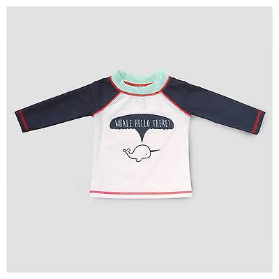 Baby Boys' Narwhal Rash Guard Cat & Jack™ - Navy