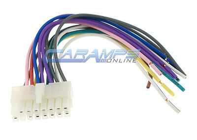 16 PIN CLARION RADIO WIRE HARNESS WIRING STEREO Ce-NET - $5.99 ... Xdz Clarion Wiring Diagram on