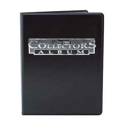 Ultra Pro - 9 Pocket Black Collectors Portfolio Binder Album Holds 90/180 Cards