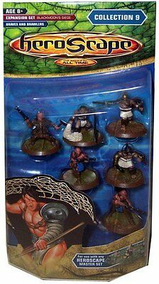 HEROSCAPE COLLECTION 9 BRAVES & BRAWLERS EXPANSION SET New MIP