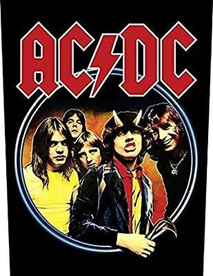 Ac/dc - Highway To Hell - Back Patch - Brand New - Music Band 706