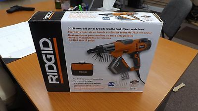 """Brand New Ridgid 3"""" Drywall and Deck Collated Screwdriver R6791 free shipping"""
