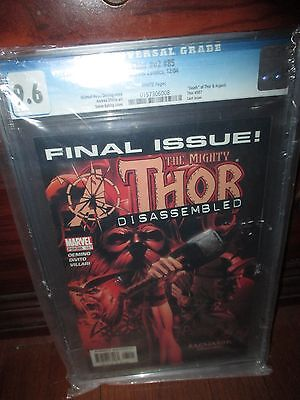 Thor vol. 2 #85 CGC 9.6 Ragnarok Conclusion Disassembled Death of Thor & Asgard