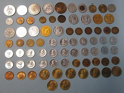 Various Token Lot Seventy Six (76) Total Tokens