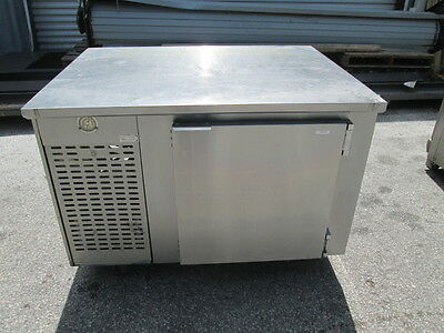 "Edwards 48"" Stainless Steel Prep Work Table Cooler Sandwich Pizza Salad 1 Door"