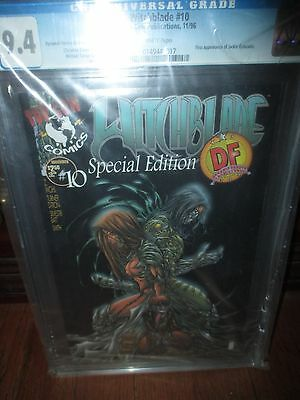 Witchblade #10 CGC 9.4 DF Dynamic Forces Variant Michael Turner Art 1st Darkness