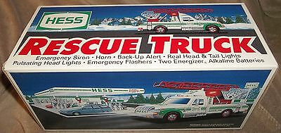 Collectible Older 1994 HESS Toy RESCUE TRUCK Battery Operated NEW Factory Intact