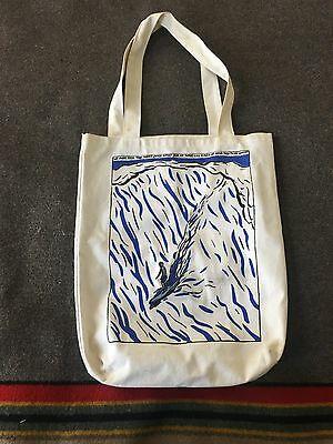 Raymond Pettibon limited edition surfer tote bag MOCA