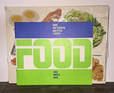 Paper Food Model 24 Sheets National Dairy Council Nutrition Education 1974