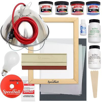 Speedball Emulsion Screen Printing Bundle