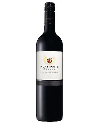 Heathcote Estate Shiraz 2011 case of 6 Dry Red Wine 750mL