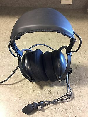 Otto V4-10146 Over-The-Head Dual Muff Headset w/ PTT for Motorola