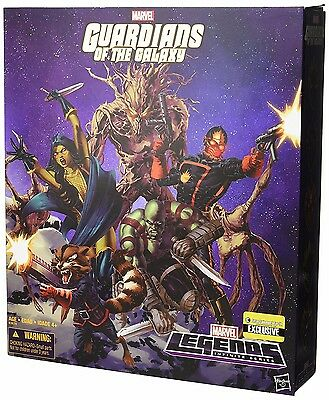 Hasbro Guardians of the Galaxy Comic Edition Marvel Legends Action Figure Set