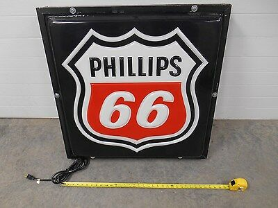Phillips 66 lighted gas station canaopy or building 1 sided light