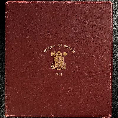 1951 Great Britain Festival of Britain Red Box Set