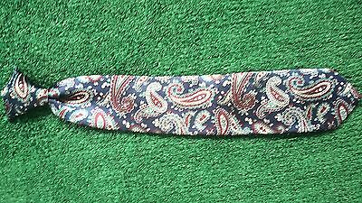 "Boy's Handsome Paisley Design Polyester Clip-On Tie 13"" Long"