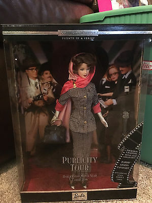 Publicity Tour 2001 Barbie Doll Hollywood Movie Star Collection