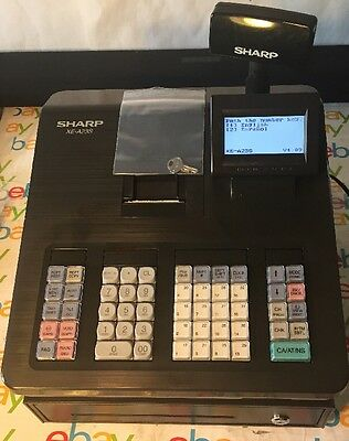 Sharp XE-A23S Electronic Thermal Cash Register Point of Sale(POS) Reset W/ Key
