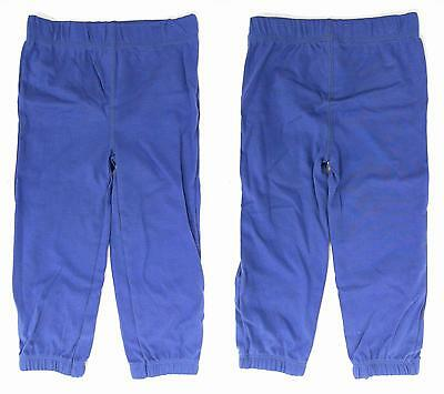 NEW Carter's Unisex Baby size 24 MO Cotton Casual Pants Blue Solid Newborn DEALS