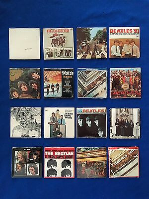 Complete Set of (16) Sealed 1980's Chu Bops Beatles Mini Albums From Sealed Box