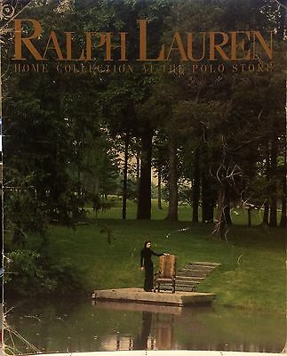 Extremely Rare Ralph Lauren Home Collection Fall 1994