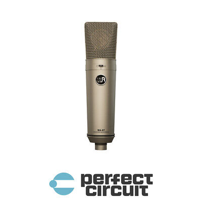 Warm Audio WA-87 FET Condenser MICROPHONE - NEW - PERFECT CIRCUIT