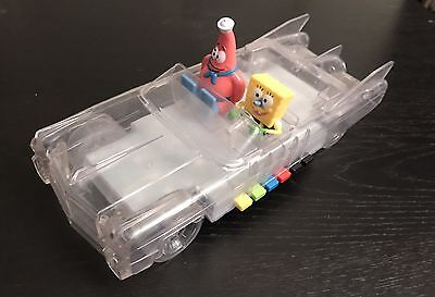 "Bob Square Pants Rainbow Car 11"" long, Batteries Operated Light & Sound"